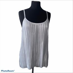 H&M top. Silver , size S